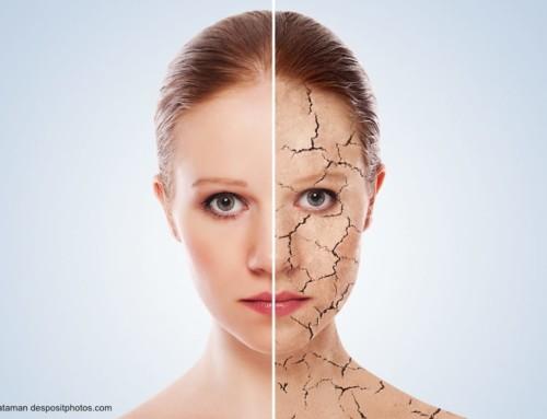 Trockene Haut und Pflege